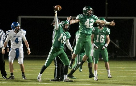 Junior defenseman Nick Mertes is full of Edina football pride
