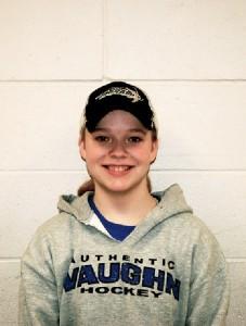 Junior Rebecca 'Boomer' Sonnek has positive outlook for girls' varsity hockey season