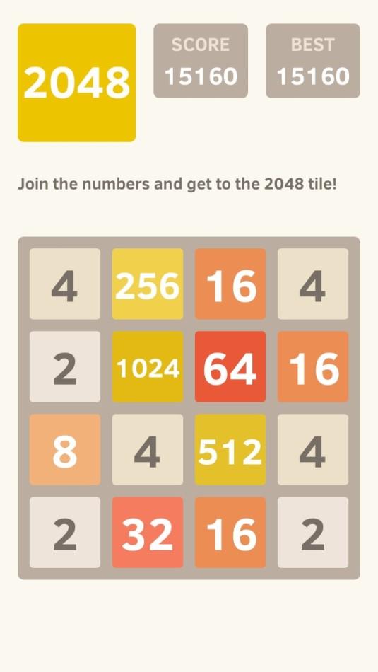 Mobile App 2048 - Your Next Addiction