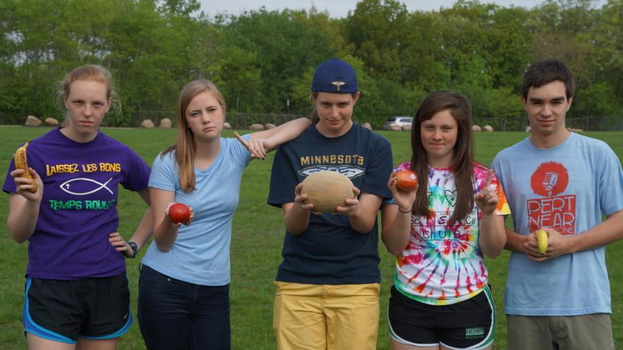 Ultimate Fruit players pose for a picture.