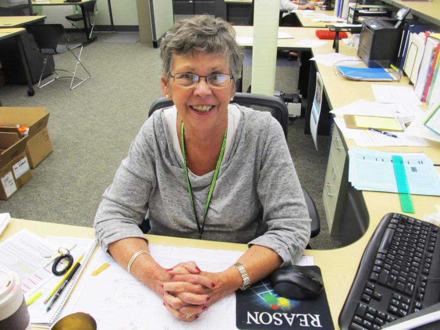 Cindy Heim is a secretary at Edina High School.