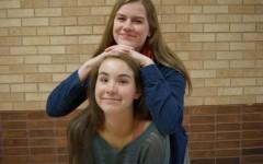 Hannah Kloos (top) and Nichole Schultz (bottom) are both seniors at Edina High School.