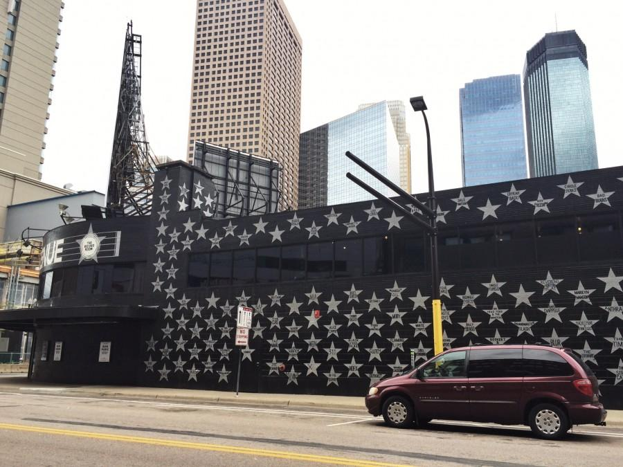 Pictured is local venue First Avenue, located in downtown Minneapolis.