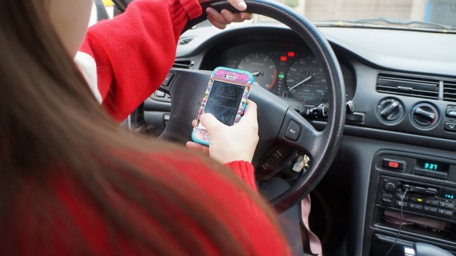Focus In was centered around distracted driving during the month of September.