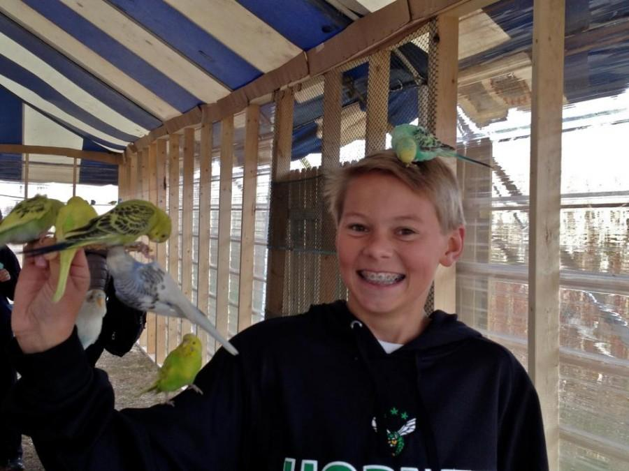 Erik+Lindquist%2C+also+a+lover+of+birds%2C+is+a+junior+at+Edina+High+School.
