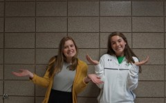 Hannah Kloos (left) and Nichole Schultz (right) are both seniors at Edina High School.