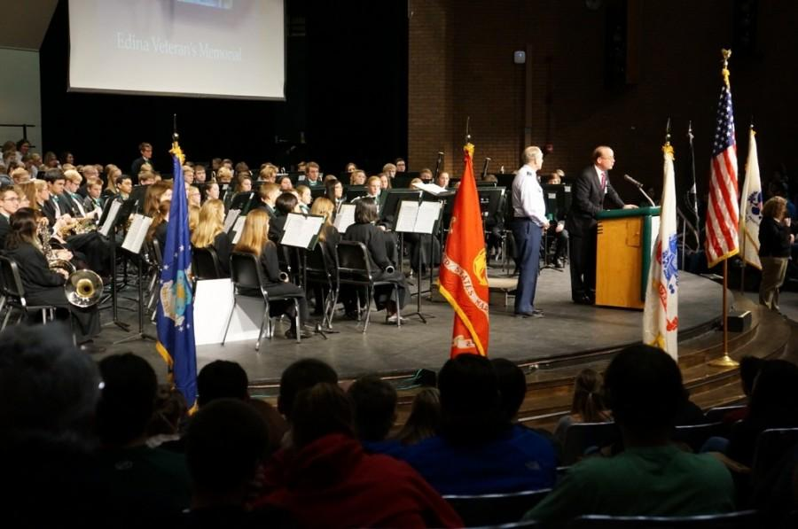 The Veterans Day assembly took place on Nov. 12th.
