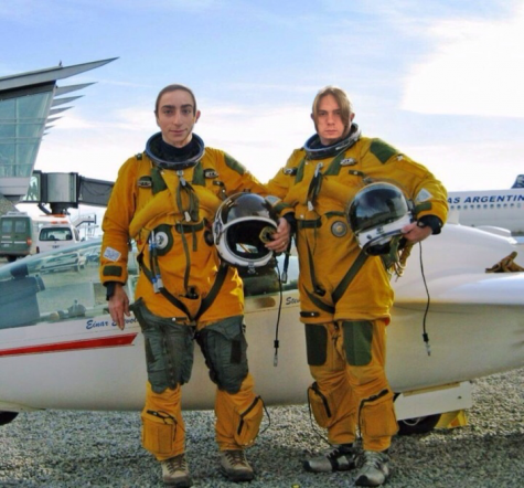 Ansel and Tanner embarked on a NASA mission this Wednesday.