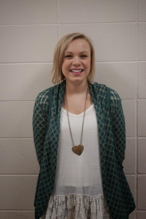 Kate Ehde (pictured) is a sophomore at EHS.
