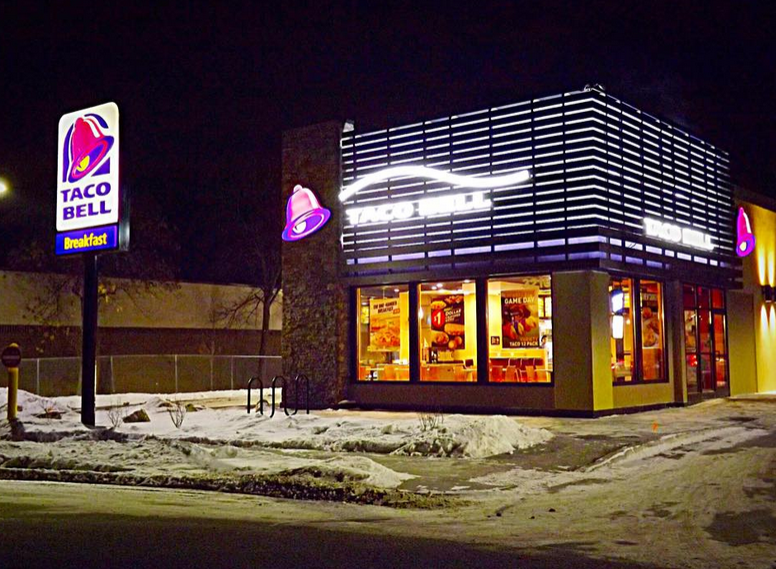 The new Taco Bell is located at 3210 Southdale Circle in Edina, MN.