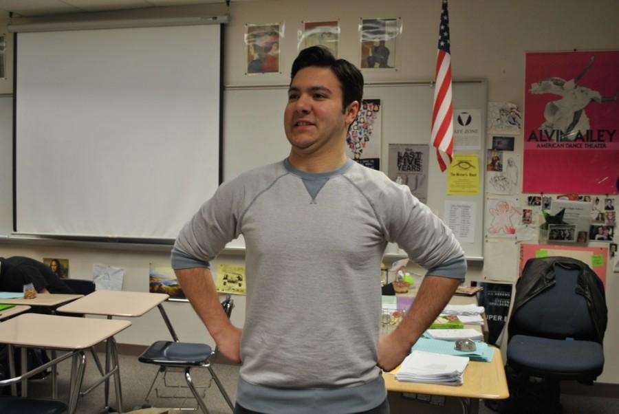 Alex Kaufman (pictured) is a senior at Edina High School.