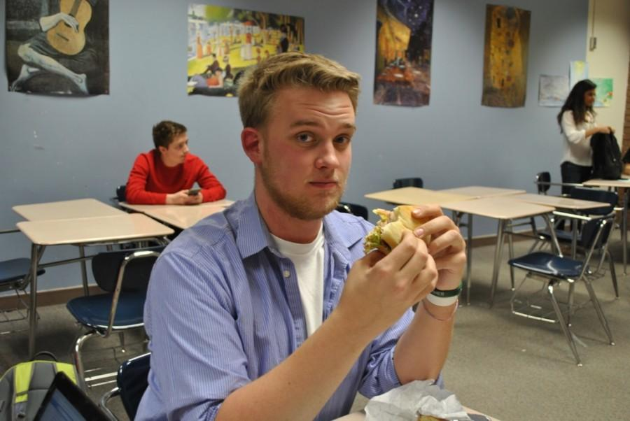 Collin Dobin (pictured) is a senior at Edina High School.