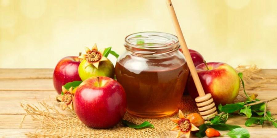 The common celebratory food for Rosh Hashana, the Jewish New Year