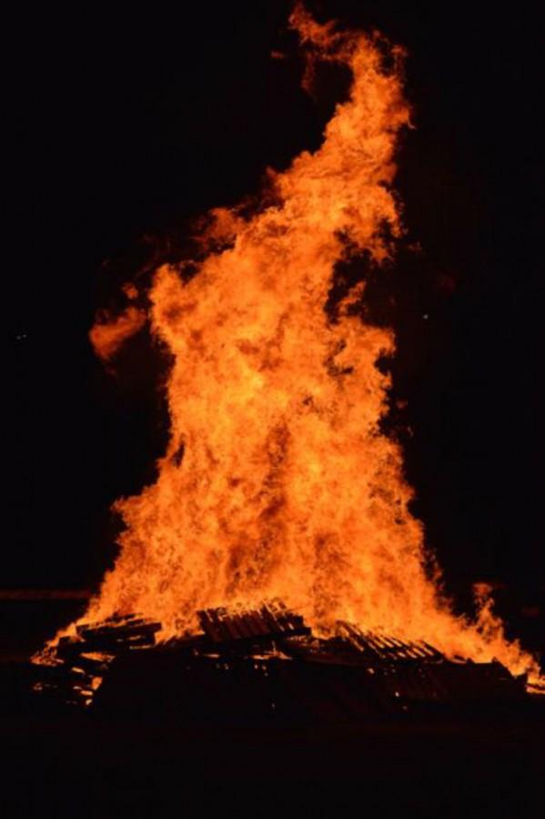Homecoming Bonfire Recap