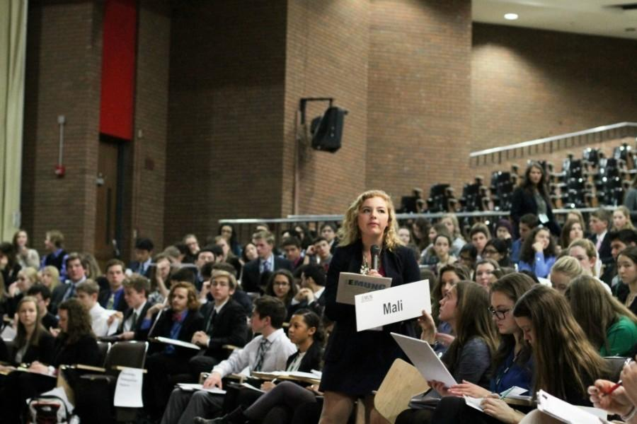 Read About the Third Annual Edina Model United Nations Conference