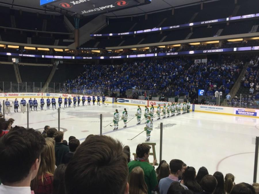 Girls Hockey Loses to Eden Prairie 0-1 in State Semifinals