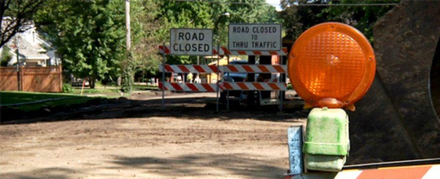 Edina Road Construction