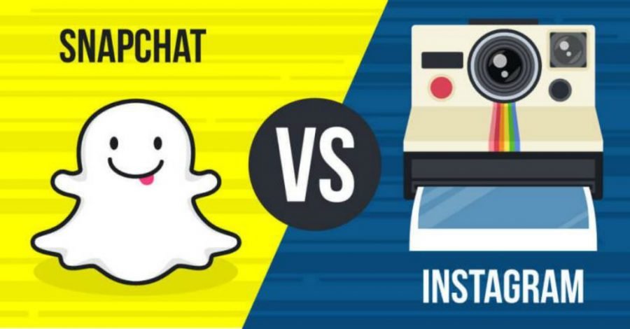 Snapchat stories vs. Instagram stories