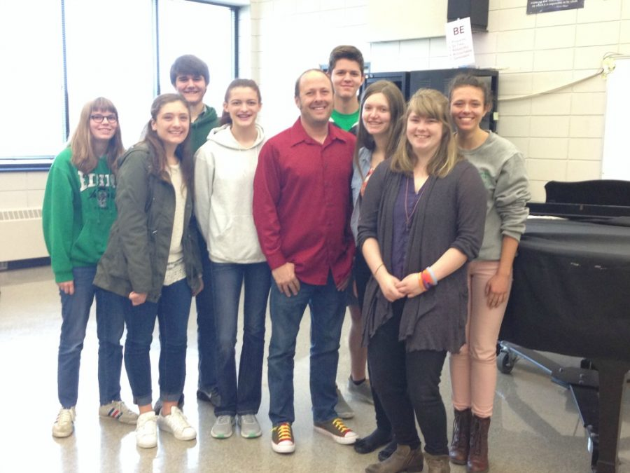 Jay Asher visits EHS