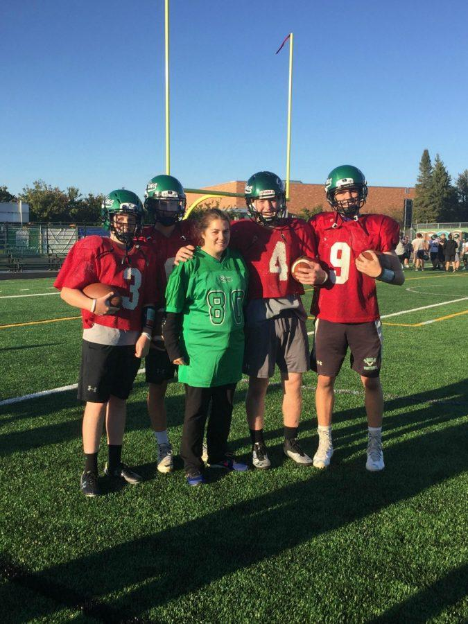 Edina Football hosts a field day with Hornet Connections