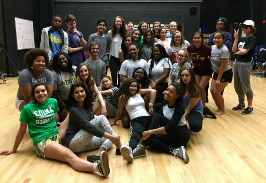 The EHS Hip Hop Dance Team