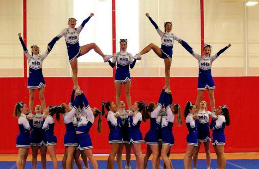 Cheerleading Tumbles into the Olympics