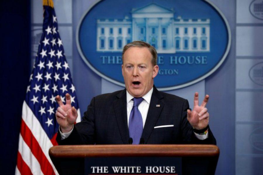 Sean Spicer, Press Secretary