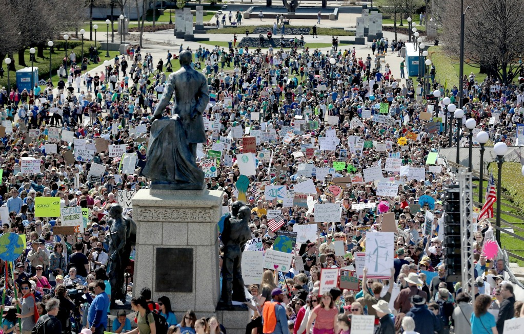 Minnesota Science March at the State Capitol