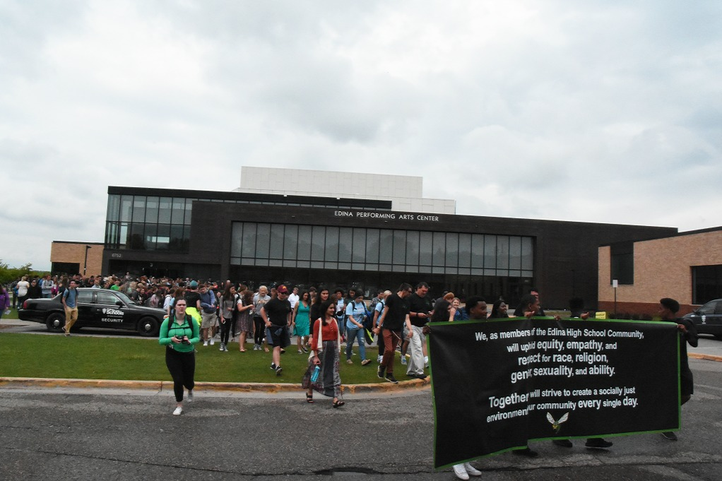 EHS Holds First Ever Unity Walk