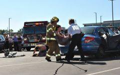 EHS Students Witness Biennial Mock Crash