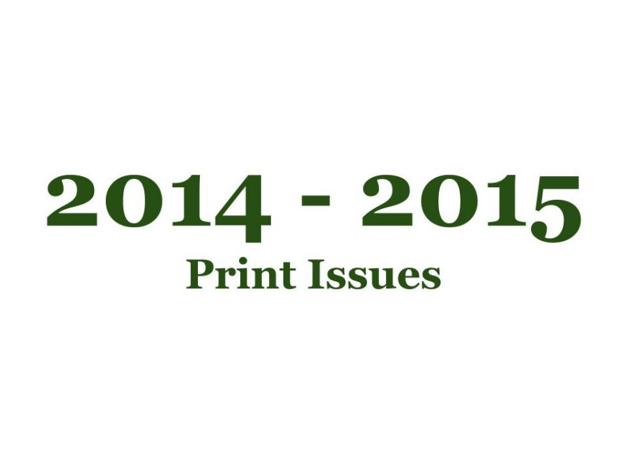2014-2015 Print Issues