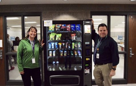 Students Surprised to See Vending Machines Fully Stocked