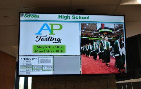 "Students Pull ""Senior Prank"" on EHS TV Monitors"