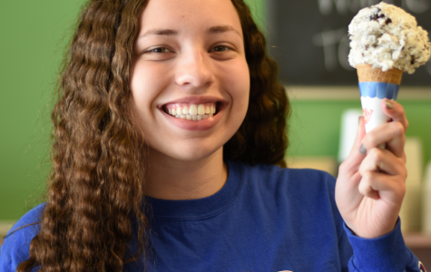 Senior Libby Thompson Manages Neighborhood Ice Cream Shoppe