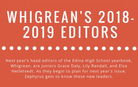 Meet Your 2018-2019 Whigrean Head Editors