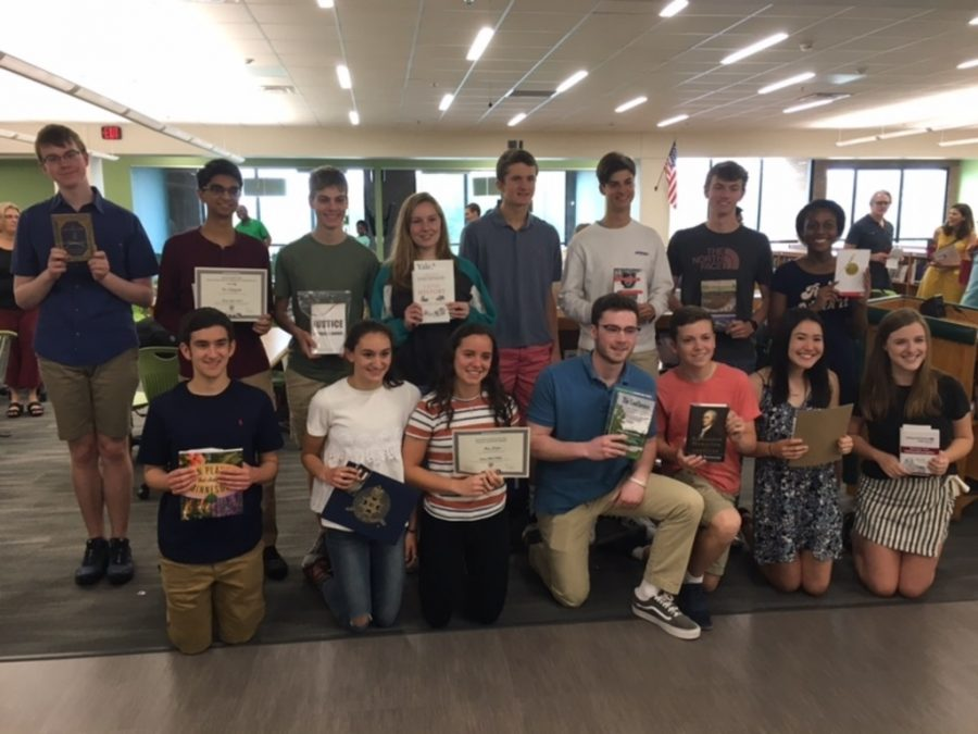 EHS%27+Juniors+Recognized+by+Universities+at+Annual+Book+Awards+Ceremony