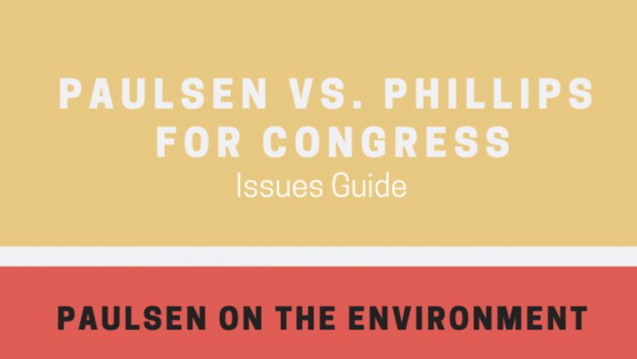 Paulsen against Philips for Congress