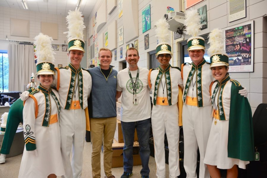 Meet the EHS Marching Band's Drum Majors