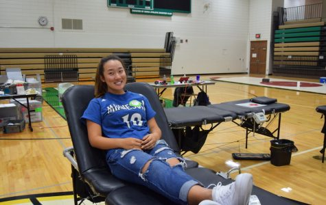 EHS Blood Drive works hard to provide relief for Hurricane Michael