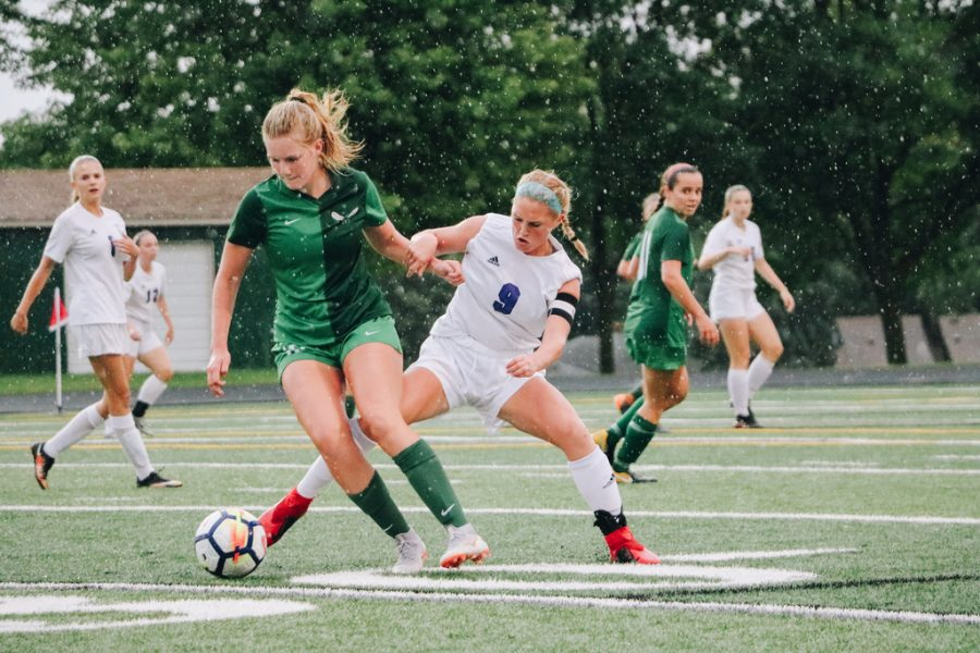 Girls' Varsity Soccer players honored by being named All-State