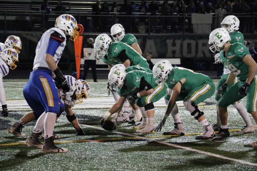 Edina Varsity Football Team ends their season with a close game
