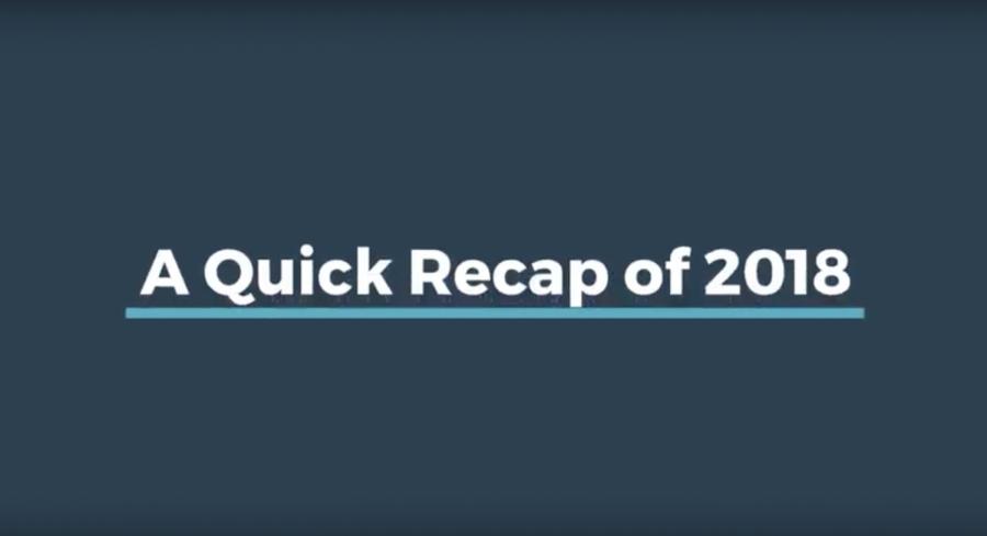 A quick recap of 2018