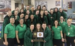 Girls' Swim & Dive win state for the third consecutive year