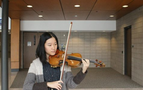 Violinist Joyce Zhao excels at music competitions