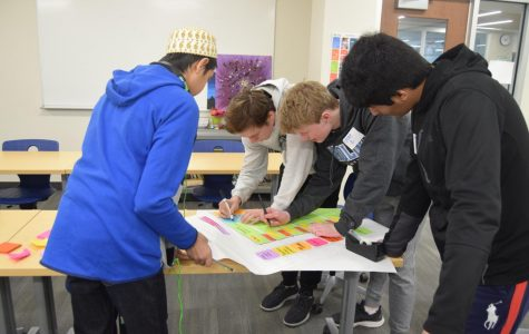 Students work to solve a pressing problem at EHS—in just six hours
