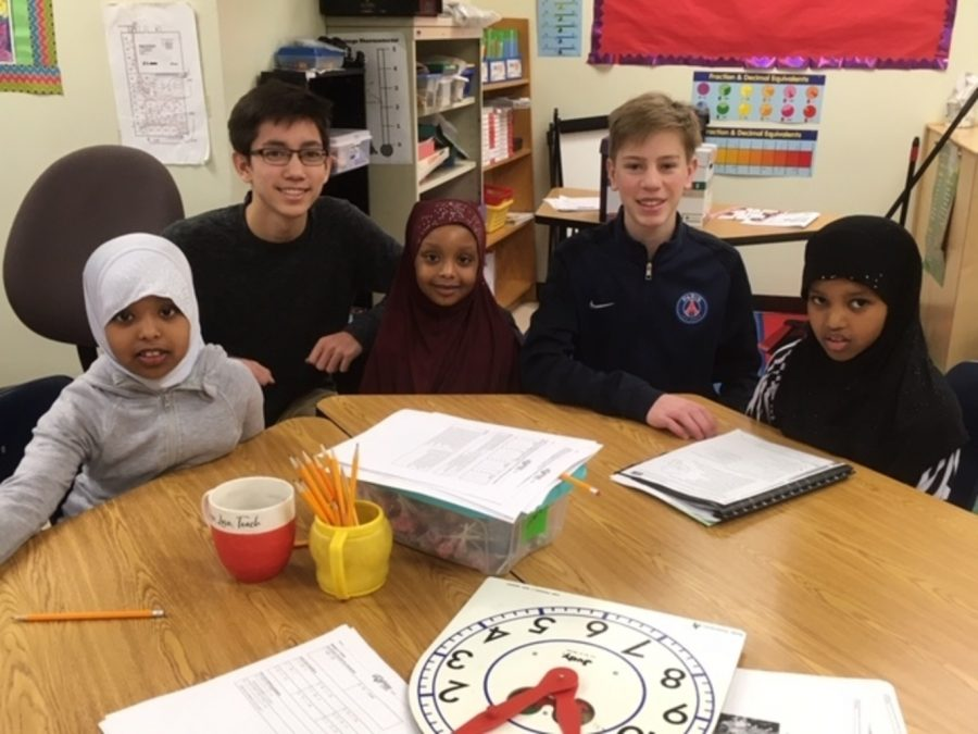 Three EHS students use their education to make a difference through tutoring