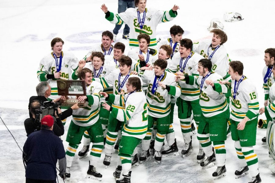 Lucky number thirteen: Edina pulls through to win 3-2 in overtime.