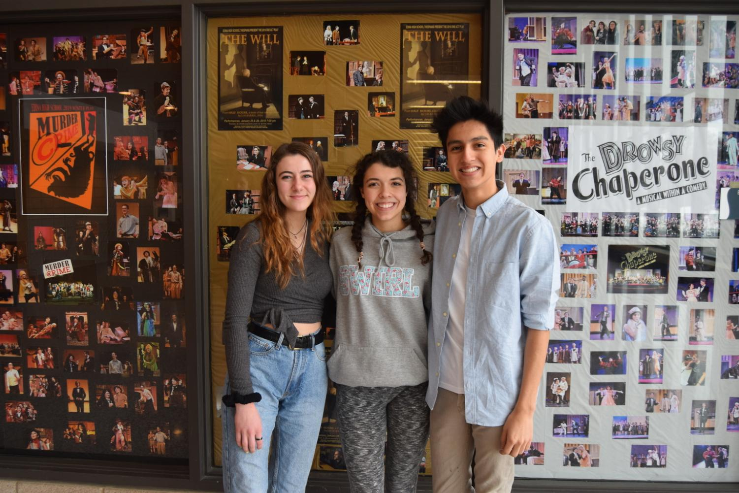 Future stars: EHS students pursue a career in the theatre industry.