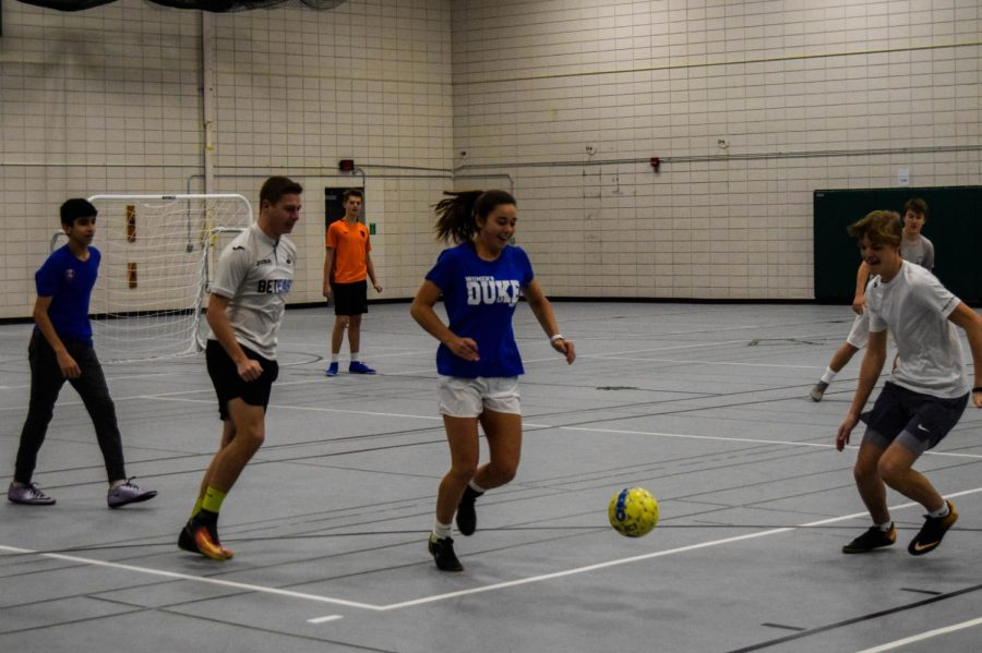EHS club allows soccer fans to practice in the winter