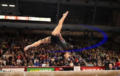Athlete of the month: junior Kelsey Neff excels in gymnastics